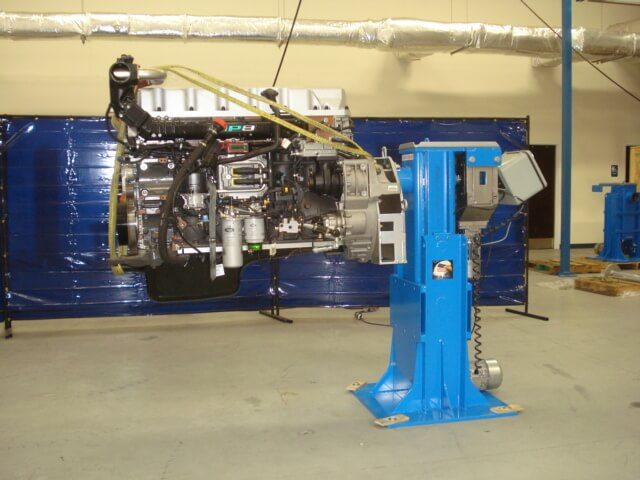 Rotating Engine Stand