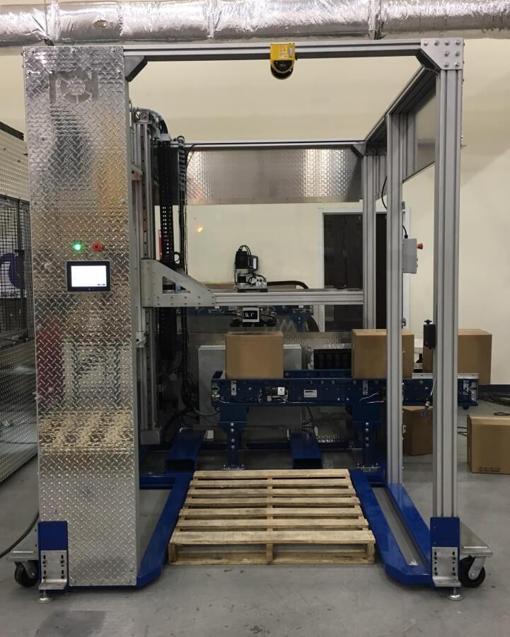 PalletPOD - Compact Palletizer - Frontal View
