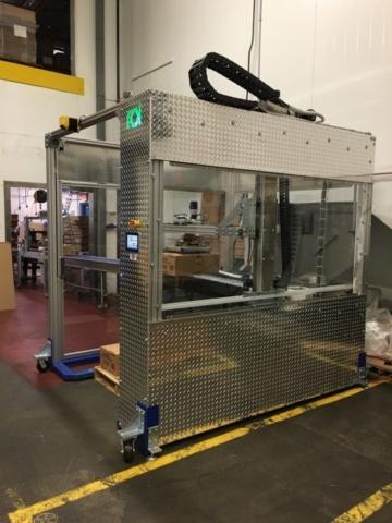 PalletPOD showcasing the conveyor load