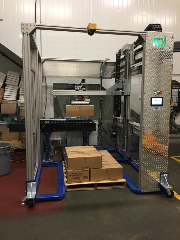 Automated industrial palletizing technology | ROI Industries
